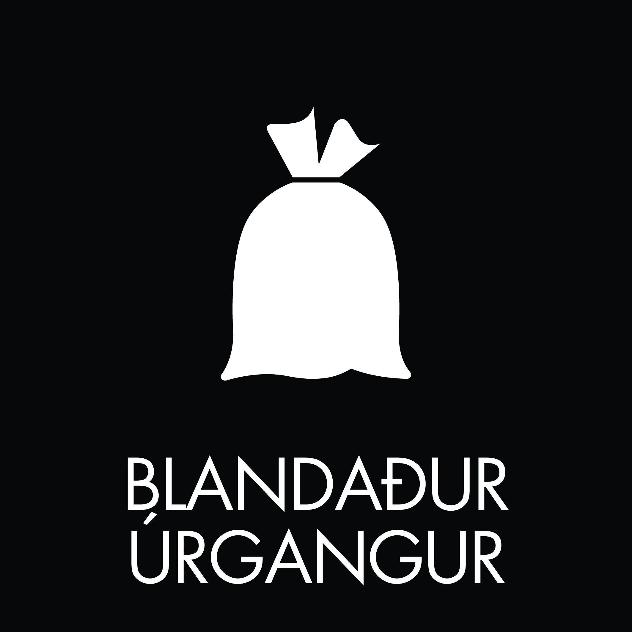 Blandaður úrgangur