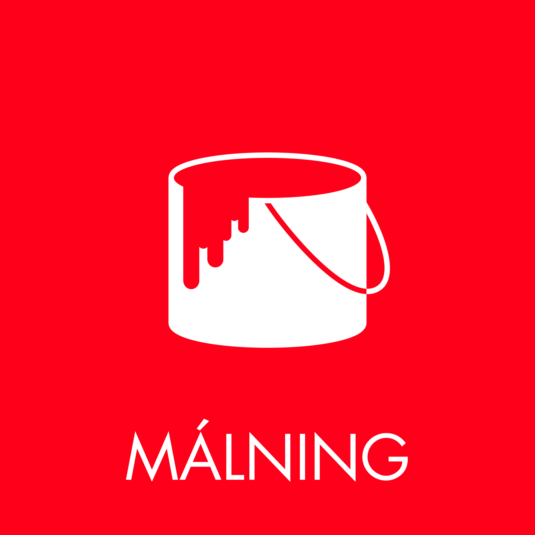 Málning