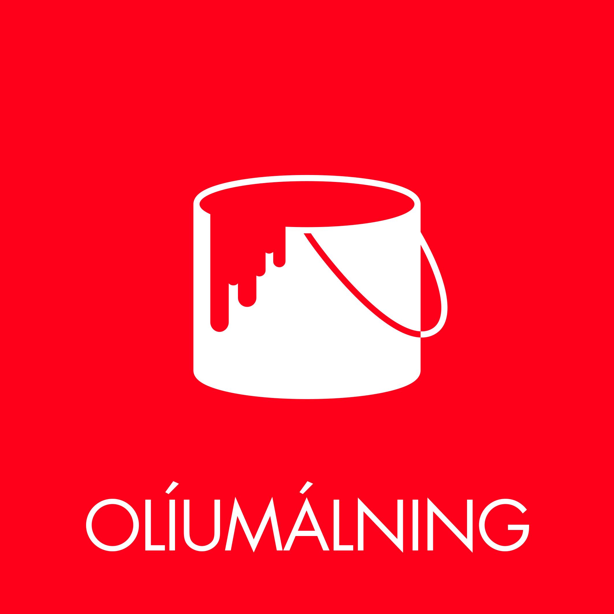 Olíumálning